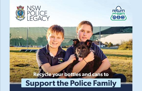Return and Earn for NSW Police Legacy